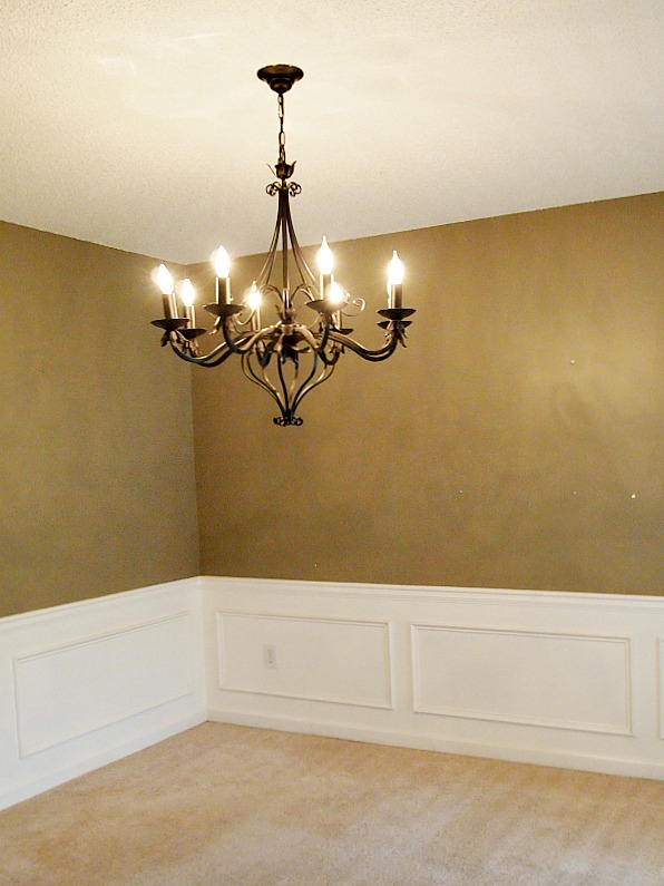 black dining room chandelier