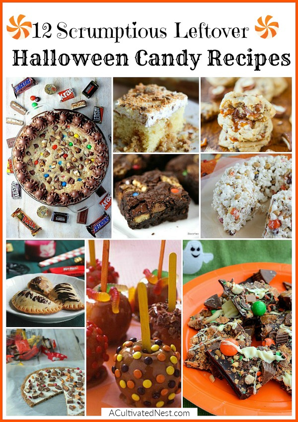 12 Yummy Ways To Use Leftover Halloween Candy