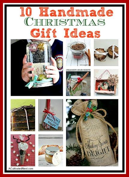 10 Handmade Christmas Gift Ideas