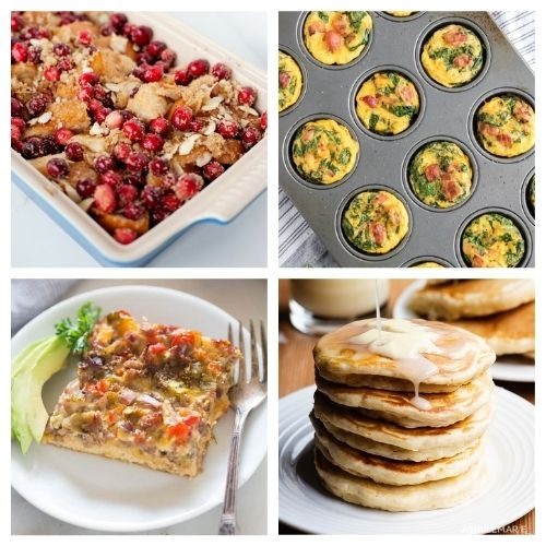 25 Christmas Morning Breakfast Recipes- Make Christmas morning breakfast special! Here are 25 delicious Christmas breakfast ideas you have to try! Casseroles, pancakes, waffles, egg dishes, scones, and more are included in this yummy roundup!   #Christmas #ChristmasRecipes #recipes #breakfast #ACultivatedNest