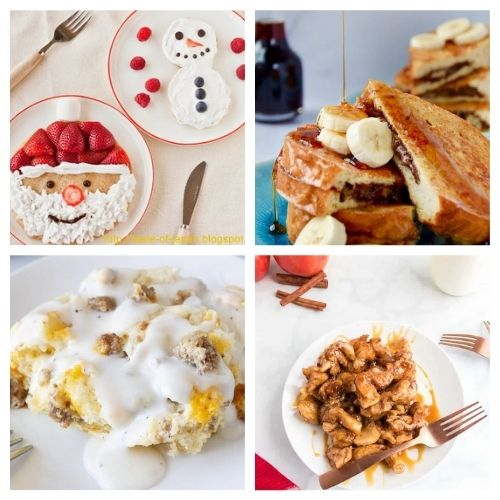 25 Breakfast Dishes for Christmas- Make Christmas morning breakfast special! Here are 25 delicious Christmas breakfast ideas you have to try! Casseroles, pancakes, waffles, egg dishes, scones, and more are included in this yummy roundup! | #Christmas #ChristmasRecipes #recipes #breakfast #ACultivatedNest