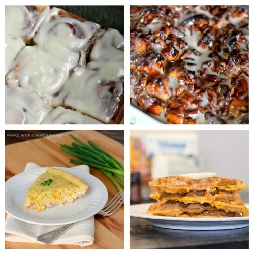 25 Christmas Breakfast Recipes- Make Christmas morning breakfast special! Here are 25 delicious Christmas breakfast ideas you have to try! Casseroles, pancakes, waffles, egg dishes, scones, and more are included in this yummy roundup! | #Christmas #ChristmasRecipes #recipes #breakfast #ACultivatedNest