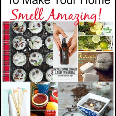 8 Natural Ways To Make Your Home Smell Amazing!