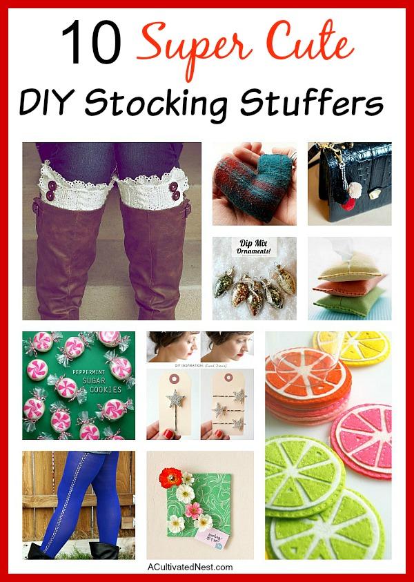 10 DIY Stocking Stuffers