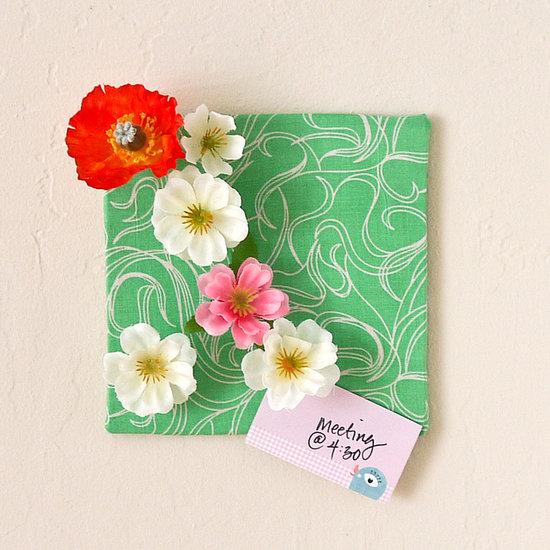 DIY flower push pin stocking stuffers
