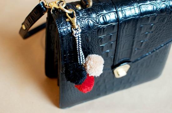 10 Super Cute DIY Stocking Stuffers - pom pom bag charm