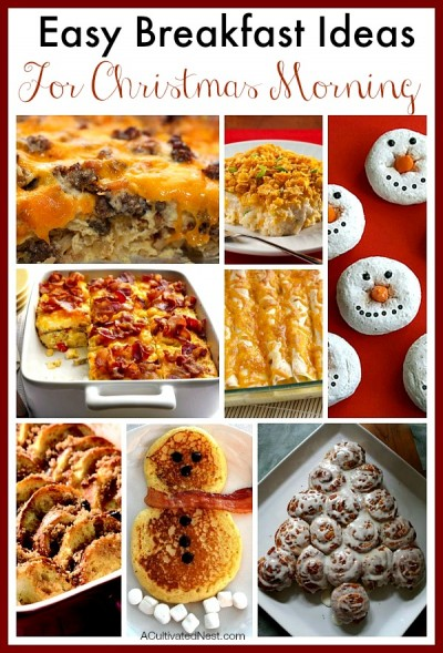 Easy breakfast ideas for Christmas morning