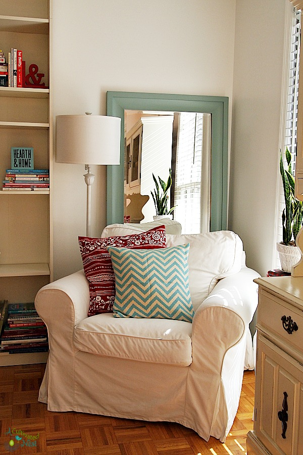 Ikea Ektorp Chair Cozy Reading Nook