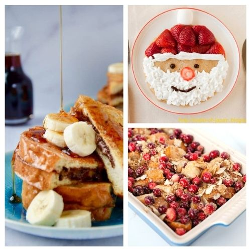25 Christmas Morning Breakfast Dishes- Make Christmas morning breakfast special! Here are 25 delicious Christmas breakfast ideas you have to try! Casseroles, pancakes, waffles, egg dishes, scones, and more are included in this yummy roundup! | #Christmas #ChristmasRecipes #recipes #breakfast #ACultivatedNest