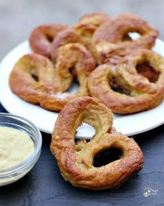 Delicious homemade pretzels