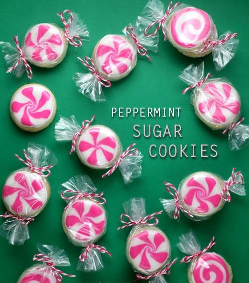 10 Super Cute Stocking Stuffers - peppermint candy sugar cookies