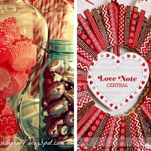 DIY Valentine's Day Decorations 13-14