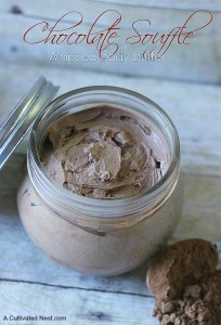 DIY Chocolate Souffle Body Butter