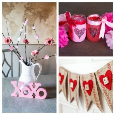 14 Easy DIY Valentine Decoration Ideas