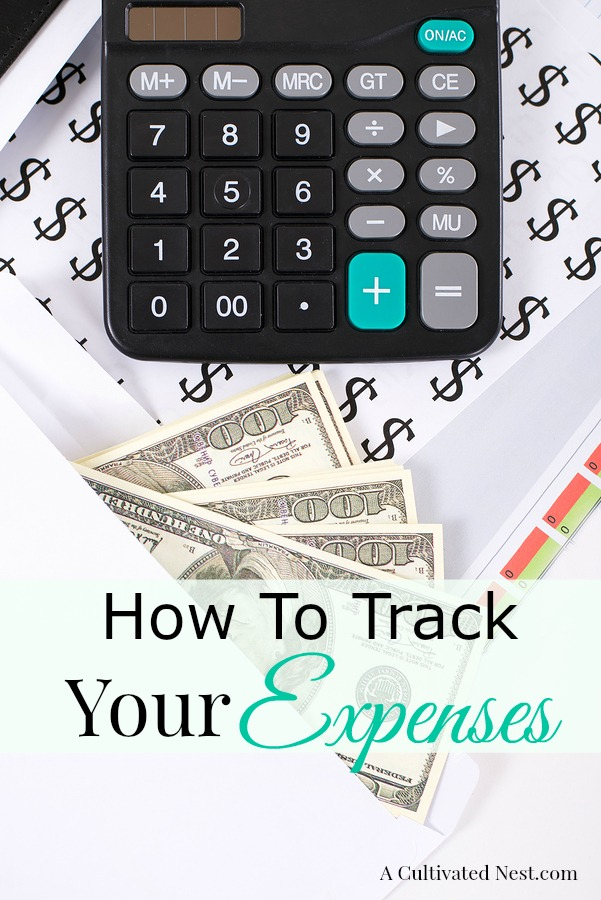 How to track your expenses | It's really important to have some sort of method for tracking the amount of money you're spending if you are trying to stay on budget. Learn different methods for tracking your expenses.