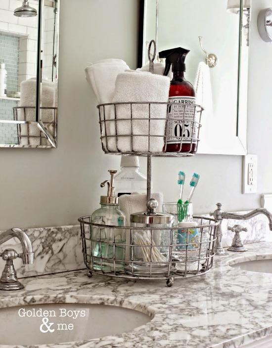 10 Pretty Ways To Organize with Baskets