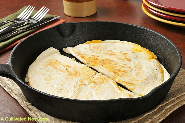 Quick meals to make like quesadillas
