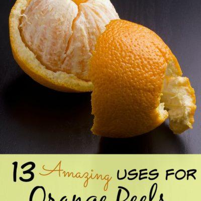 13 Amazing ways you can use orange peels