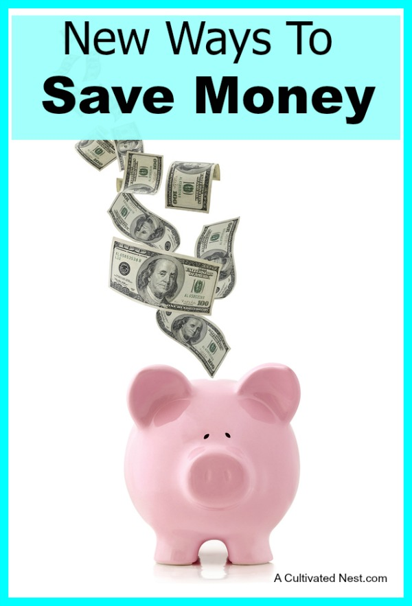 New Ways To Save Money In The New Year - The New Year is a time of new habits. It's a perfect time to reorganize your thoughts, ideas and financial goals. If you are looking for new ways to save money in the New Year, here are some lesser used ideas when it comes to staying on budget.