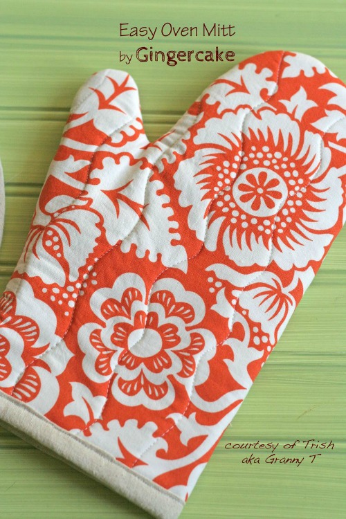15 Easy Sewing Projects - DIY Oven Mitts