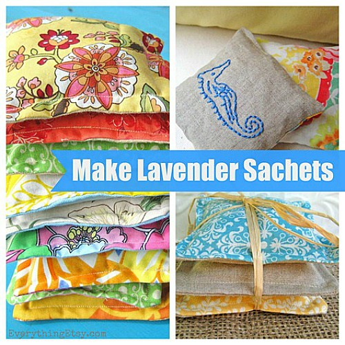 15 Easy Sewing Projects - DIY Sachets