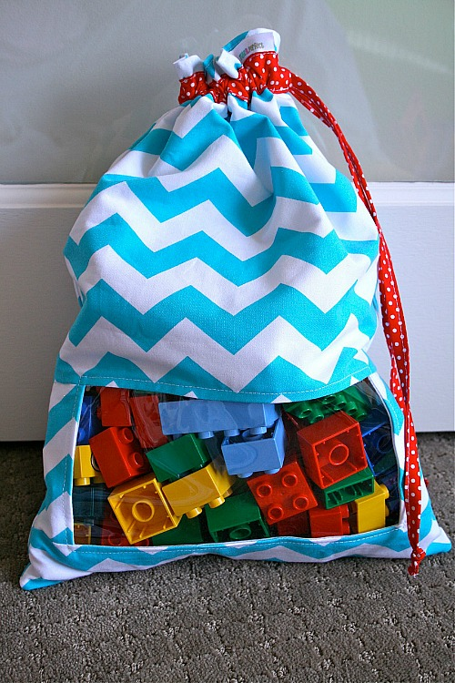 15 Easy Sewing Projects - DIY Toy Sack