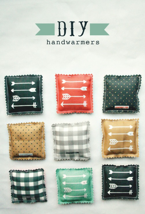 15 Easy Sewing Projects - DIY hand warmers