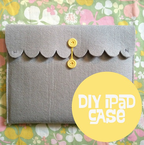 15 Easy Sewing Projects - DIY iPad case