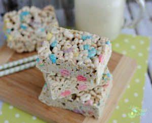 Lucky Charms Treats-They're Magically Delicious!
