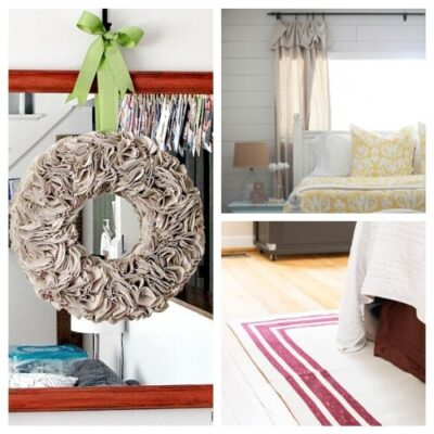12 Easy DIY Drop Cloth Projects