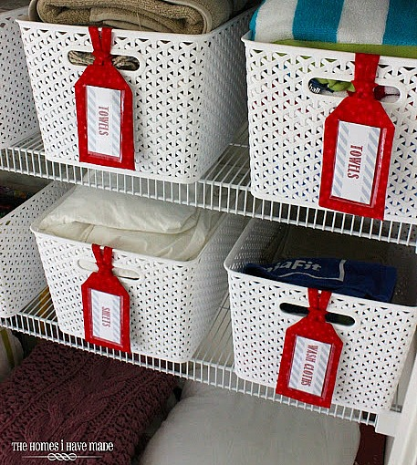 Free Printable Labels - linen closet labels