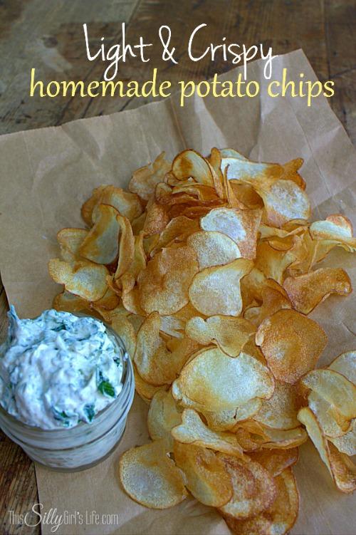 how to make potato crisps at home