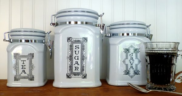 Free Printable Labels - kitchen canister labels