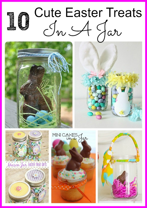 10 Cute Ester Treats In A Jar