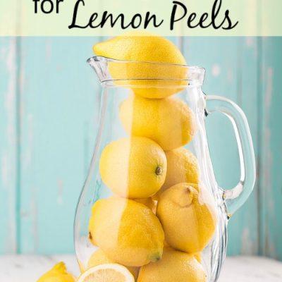 10 amazing uses for lemon peels