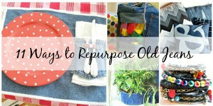 Ways to repurpose old jeans