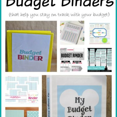 Budget Binder Pinterest Ideas