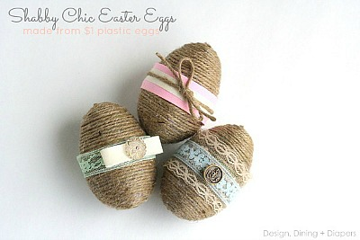 DIY Dollar Store Easter Eggs