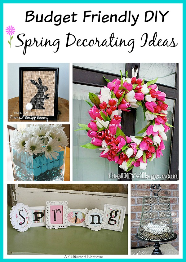 10 Adorable Diy Dollar Store Spring Crafts A Cultivated Nest