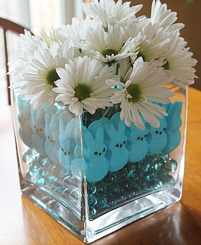 DIY Dollar Store Spring Centerpiece