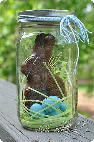 Easter treats in a jar