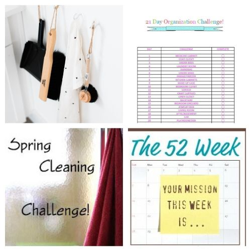 The Ultimate Spring Cleaning Guide - Spring Cleaning can be overwhelming! I've put together the Ultimate Spring Cleaning Guide with helpful spring cleaning checklists, challenges, calendars, and tips on the internet!   #ACultivatedNest