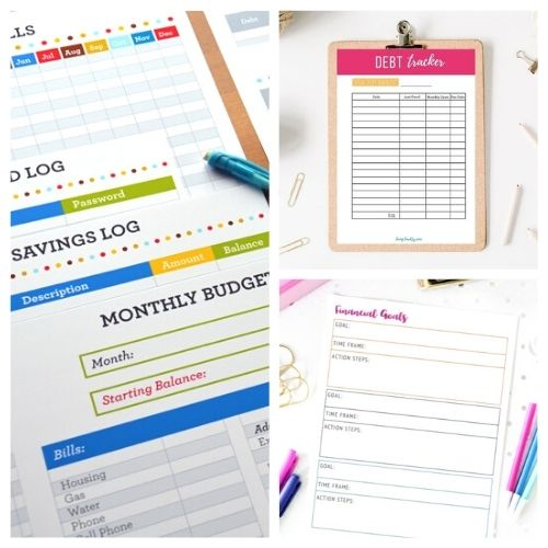 12 Budget Binder Pinterest Ideas and a Freebie- You can put together your own DIY budget binder, but using a pre-made one will save you a lot of time! For some great pre-made budget binder printables, check out these budget binder Pinterest ideas, plus get a free printable! | #budget #budgetBinder #budgeting #printables #ACultivatedNest