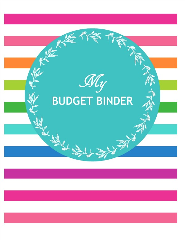 Budget Binder Printable Cover