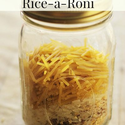 copycat Rice-a-Roni recipe