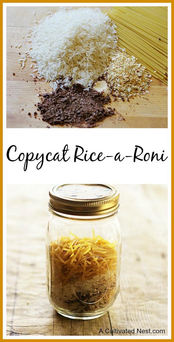 Copycat Rice-A-Roni Recipe