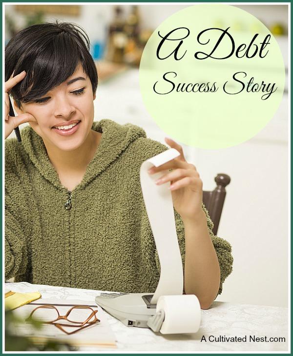 A debt success story
