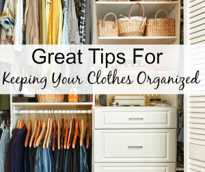 How To Better Organize Your Clothes