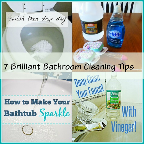 Brilliant Bathroom Cleaning Tips - Bathroom cleaning tips vinegar