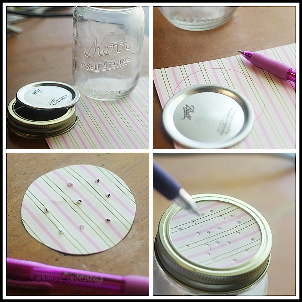 DIY Freshener: how to make a shaker top for your freshener